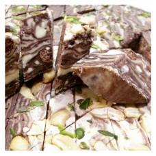 Халва Узбекская шоколадная (зебра)
