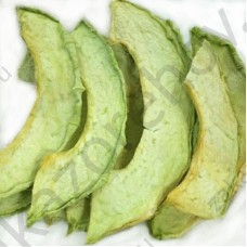 Дыня сушеная слайсами зеленая